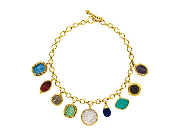 A necklace by Elizabeth Locke