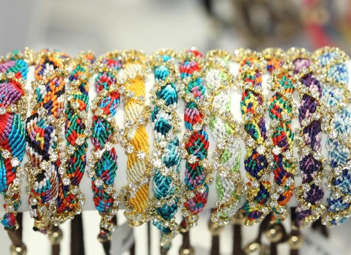 Bracelets from Ettika.