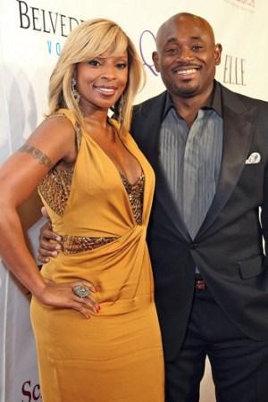 Mary J. Blige and Steve Stoute