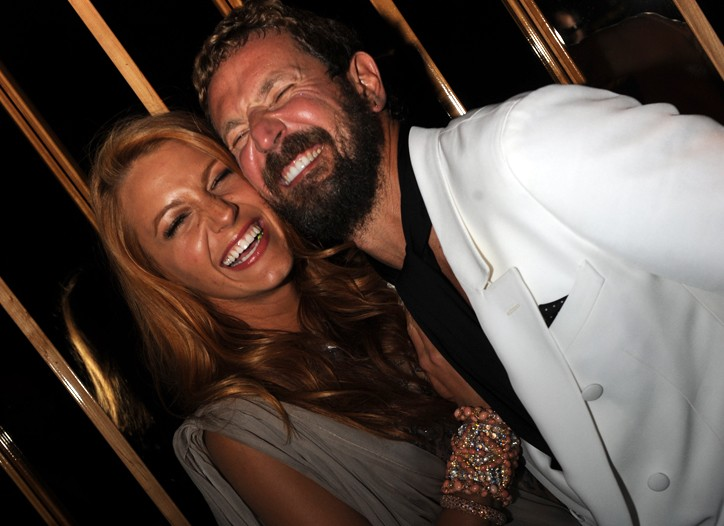 Blake Lively and Stefano Pilati