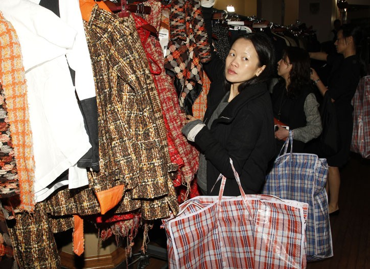 Designer Wayne D. Lee goes mad for plaid.