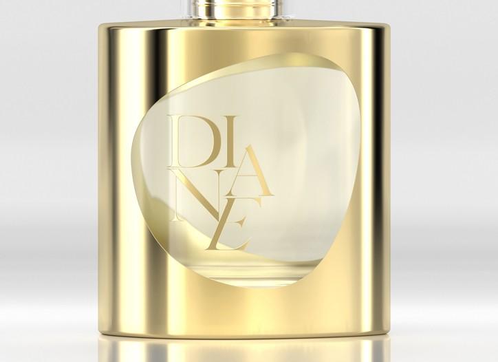 Diane von Furstenberg's new fragrance, Diane.