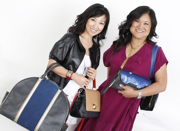 Bag Snob's Tina Craig and Kelly Cook and their new collection for DKNY.