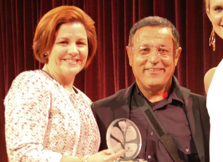 Christine Quinn and Elie Tahari
