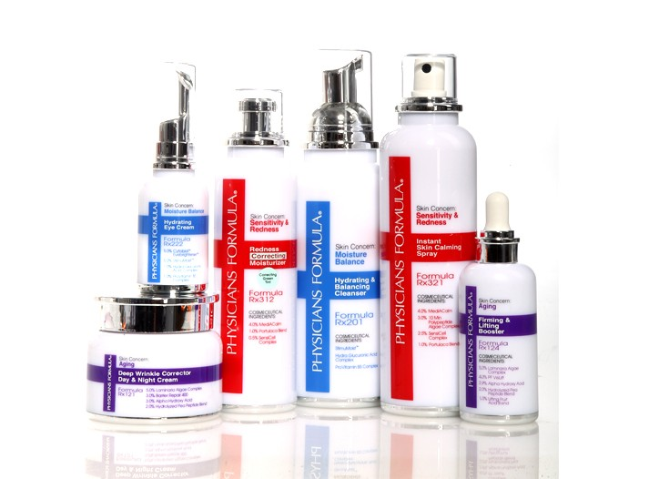 Select items from Physicians Formula Skin Care, due out this August.