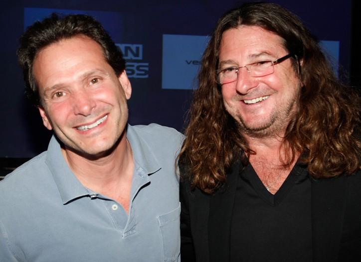 Dan Schulman and Jacques-Antoine Granjon