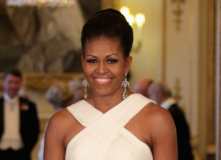 Michelle Obama in Tom Ford.