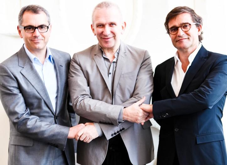 Marc Puig, Jean Paul Gaultier and Manuel Puig