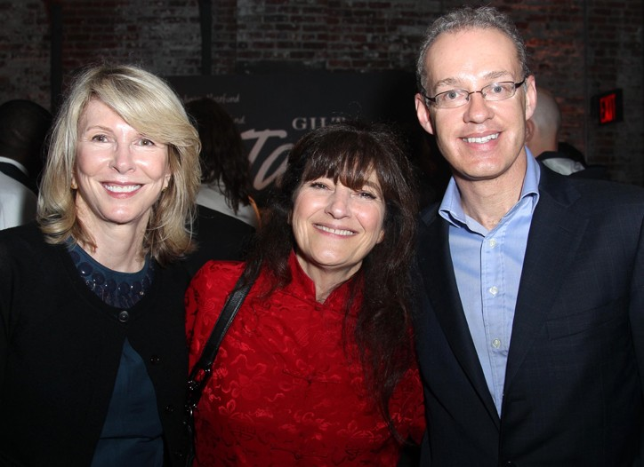 Susan Lyne, Ruth Reichl and Kevin Ryan