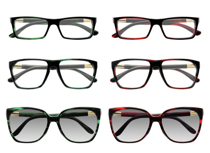 Styles from the Gucci-Safilo collaboration.