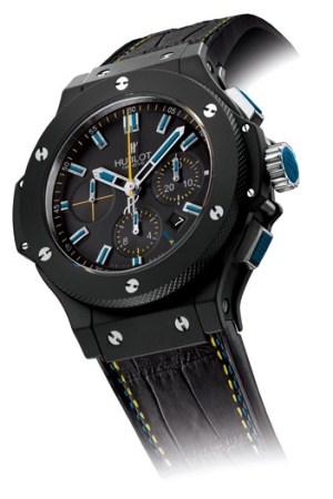 Hublot's Big Bang Black Magic amfAR watch