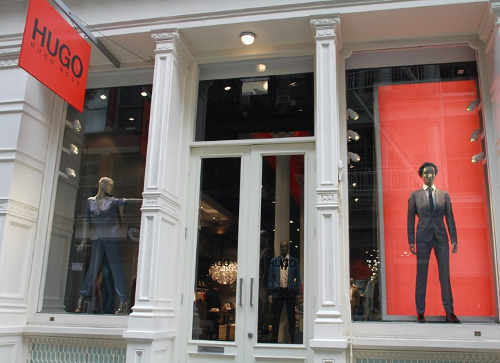 Hugo Boss Soho Store