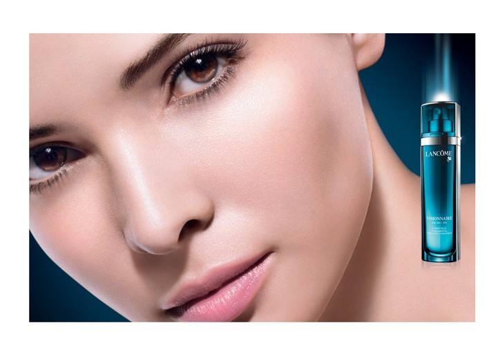An advertising image for Lancôme's Visionnaire.