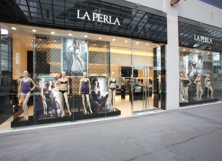 The La Perla store in Singapore.
