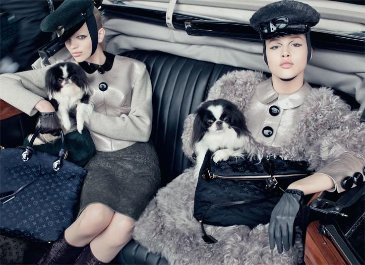 Louis Vuitton's fall-winter campaign.