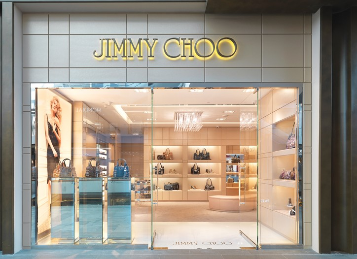 A Jimmy Choo boutique in Singapore.