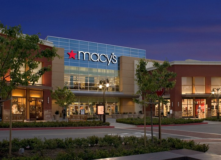 Macy's shares rose 7.7 percent on the earnings news.