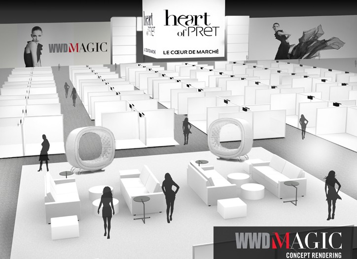 A rendering of the Heart of Prêt section of WWDMAGIC.
