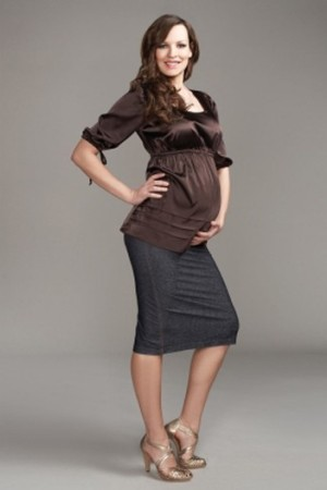 A look from Maternal America for the maternity rental web site Mine for Nine.