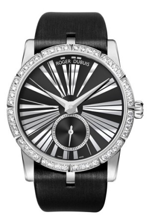 A ladies watch from Roger Dubuis.