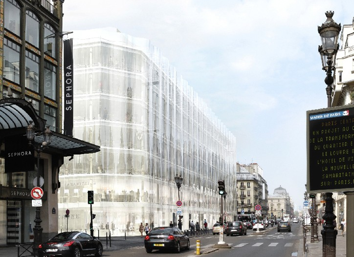 A rendering of the new Samaritaine.