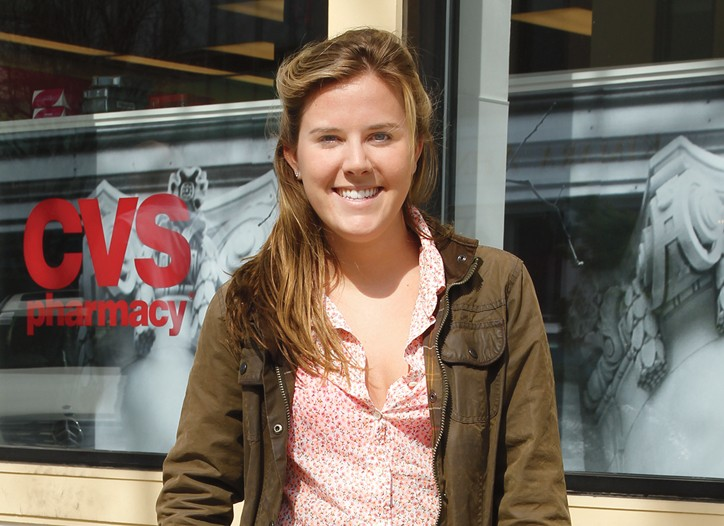 Madison Kempf, a 19-year-old art history student at NYU