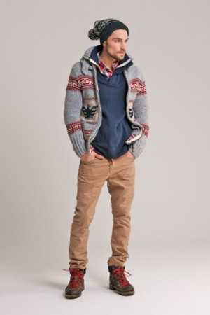 A look from Superdry.