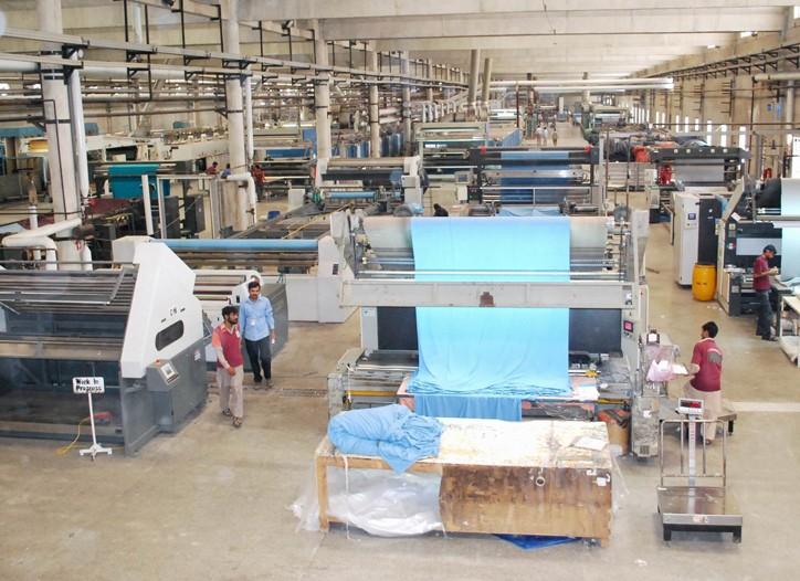 Masood Textile Mills in Faisalabad, Pakistan.