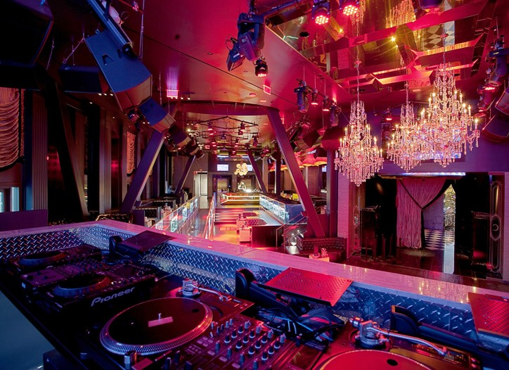 Chateau Nightclub & Gardens in the Paris Las Vegas hotel.