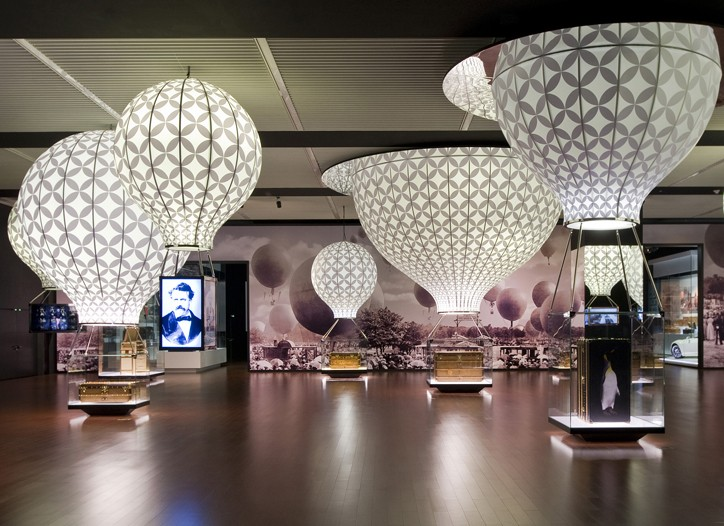 Louis Vuitton Voyages exhibition at the National Museum of China.