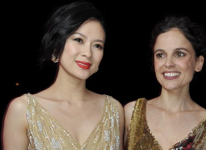 Zhang Ziyi and Elena Anaya