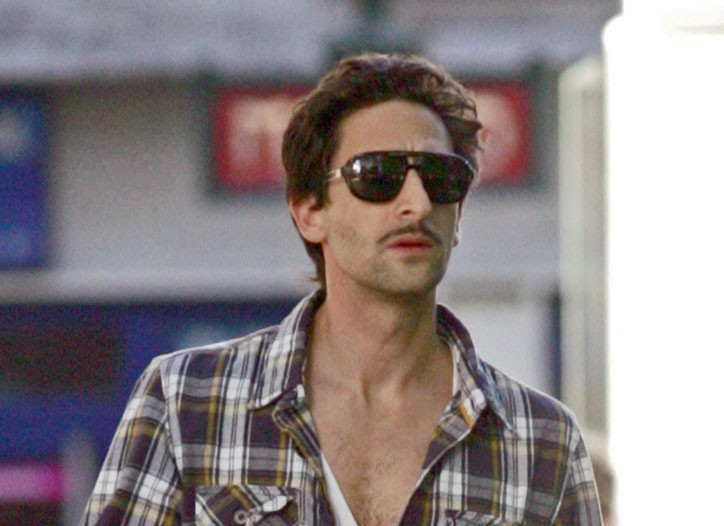 Adrien Brody in Tod's.