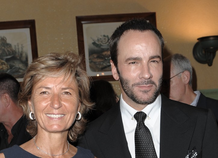 Anna Zegna and Tom Ford