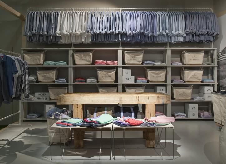 B.D. Baggie new shop-in-shop store concept. ?