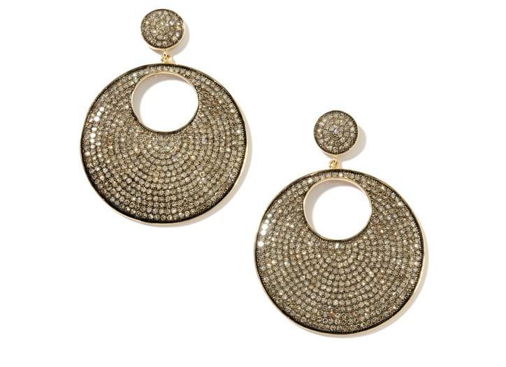 Earrings by Carol Brodie.