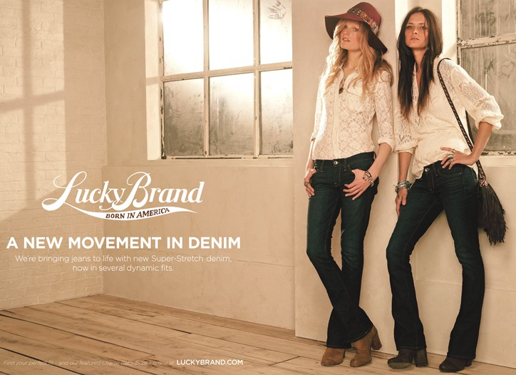 An image from Lucky Brand's new fall ad campaign shot by Carter Smith.
