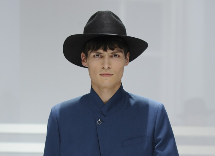 Blue Blood: Dior Homme Men's RTW Spring 2012