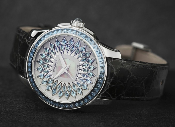 The dMc La Sirène watch inspired by Charlene Wittstock.