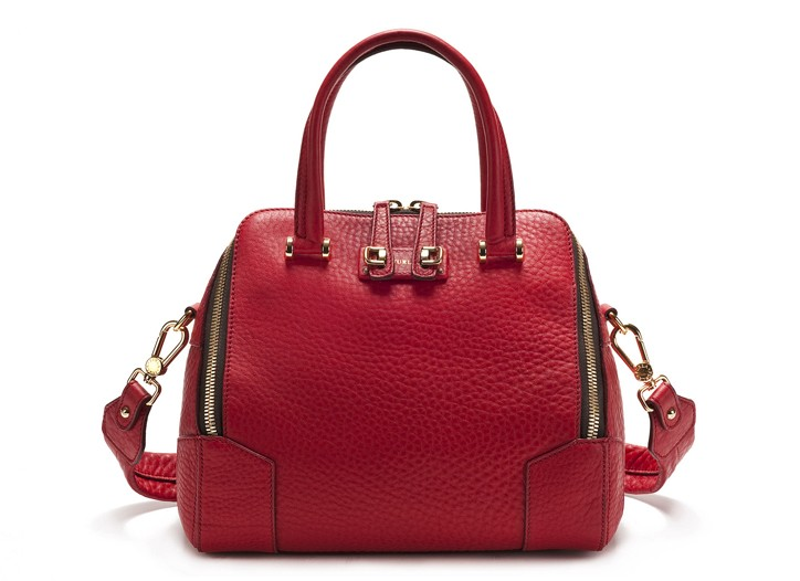 A bag from the Furla for Saks Fifth Avenue collection.