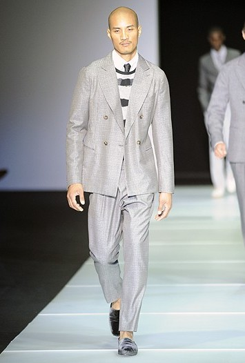 Giorgio Armani Men's RTW Spring 2012