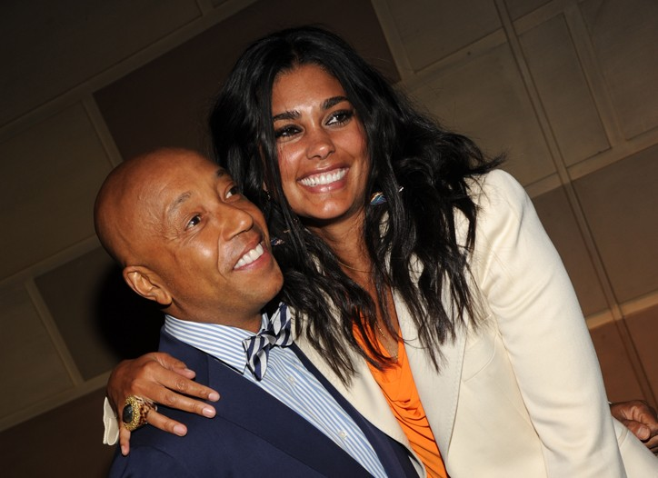 Russell Simmons and Rachel Roy