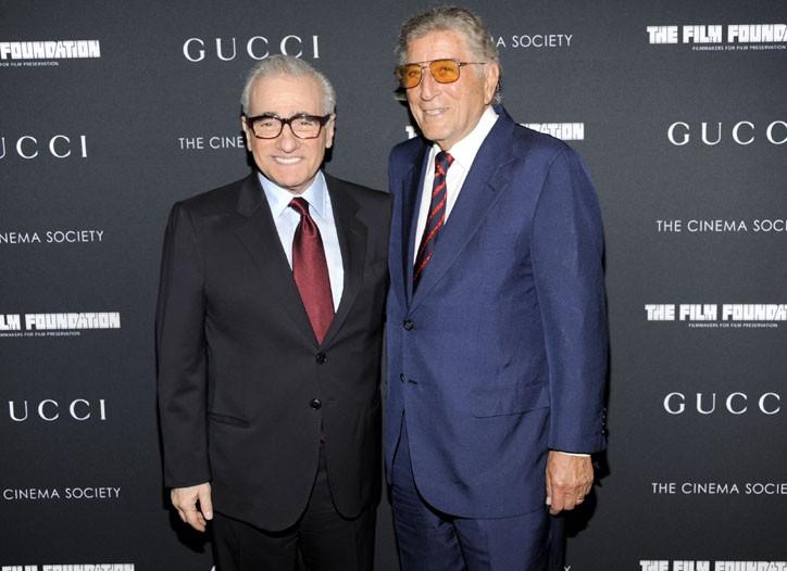Martin Scorsese and Tony Bennett