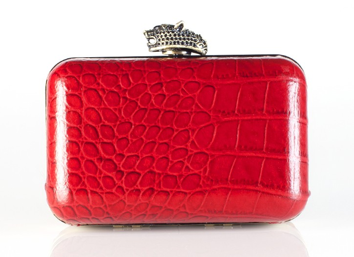 A clutch from House of Harlow 1960's handbag collection.