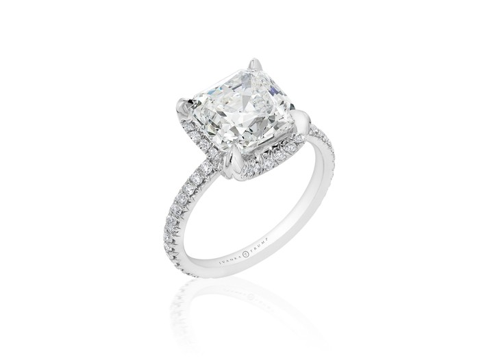 Ring from Ivanka Trump's sustainable diamond collection.