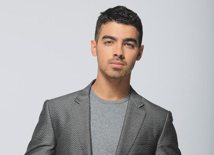 Joe Jonas in Calvin Klein Collection