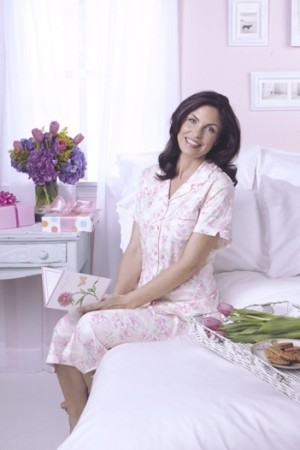 A signature sleepwear look by KN Karen Neuburger