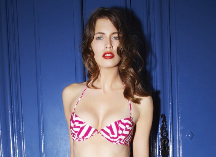 Christian Lacroix beachwear look.
