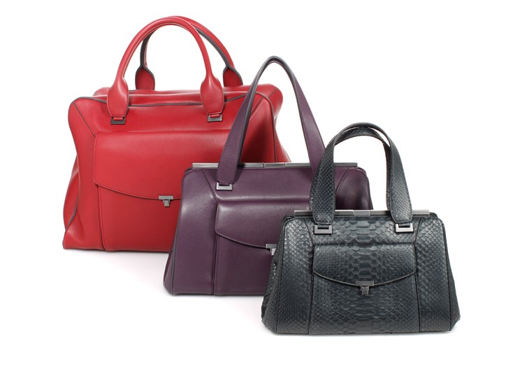 The weekend, medium and small Lula bags.