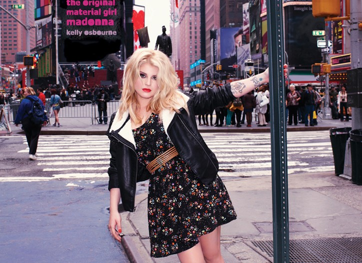 Kelly Osbourne in the fall Material Girl campaign.