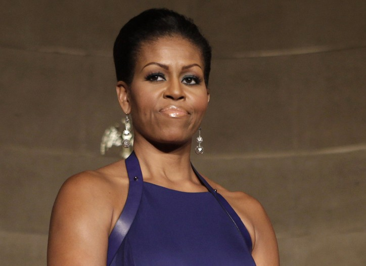 Michelle Obama in Reed Krakoff.